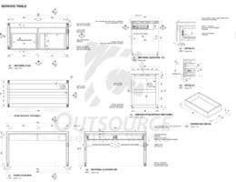 OUTSOURCE ARCHITECTURAL DESIGN DRAFTING
